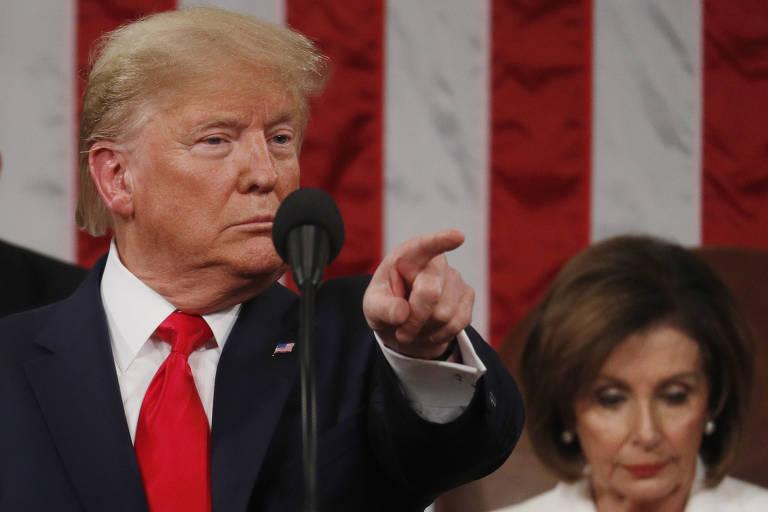Veja fotos do Discurso do Estado da União de Donald Trump