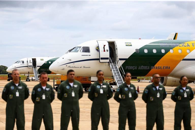 0Aviões da Força Aérea Brasileira decolam de Brasília para buscar brasileiros que estão em Wuhan, na China