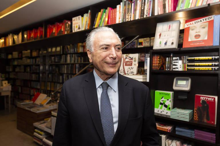 O ex-presidente Michel Temer