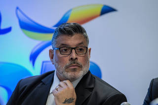 Evento de filiação de Alexandre Frota ao PSDB