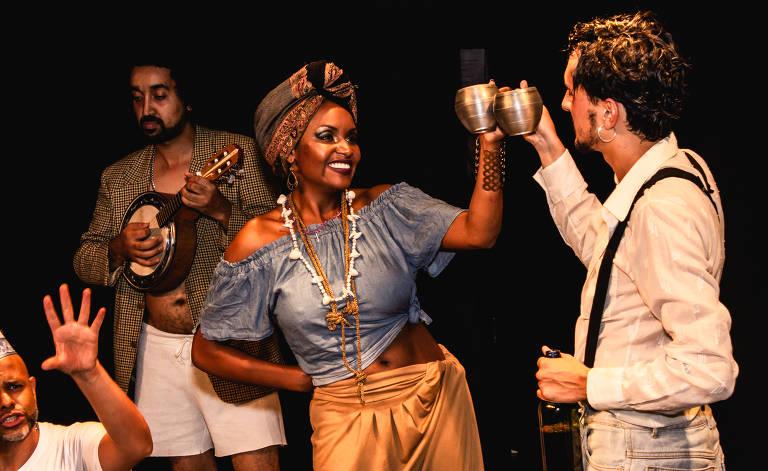 Veja cenas do musical 'Bertoleza'