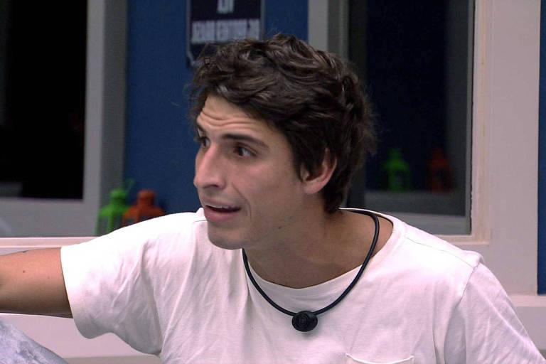 Felipe foi vetado e não participa da prova do líder