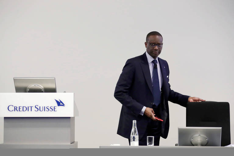 CEO do Credit Suisse, Tidjane Thiam