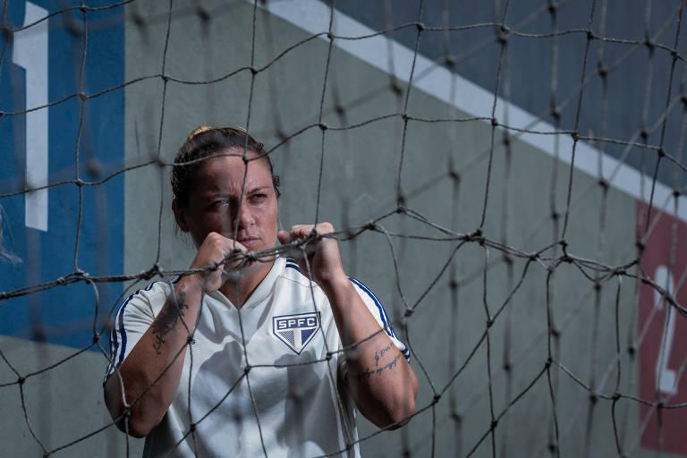 Glaucia, a esperança de gols do São Paulo em 2020