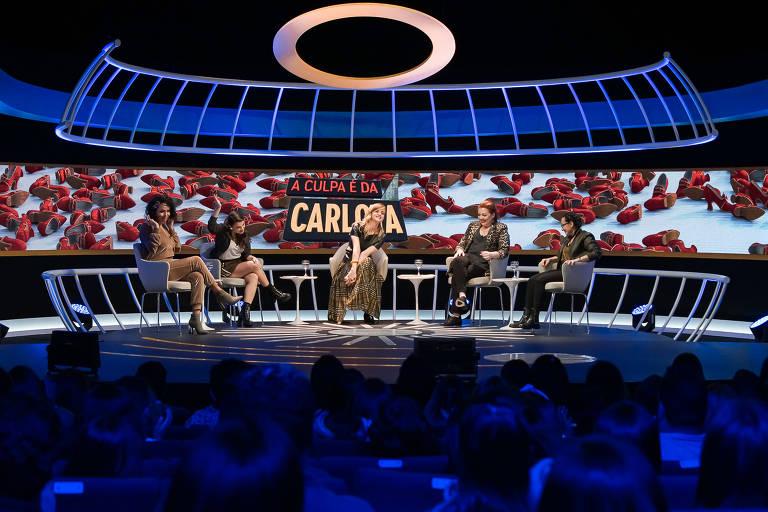 Imagens do programa A Culpa É da Carlota