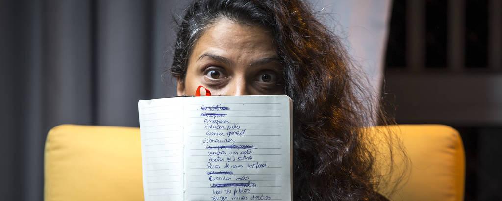 Juliana Lima da Costa, 38, está na luta para conseguir cumprir suas metas