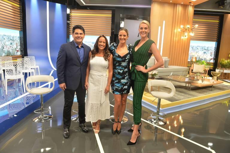 Hoje em dia comemora 15 anos  em novo cenário e com novidades do programa para 2020 na Record TV / Estúdio G - Rua do Bosque-SP