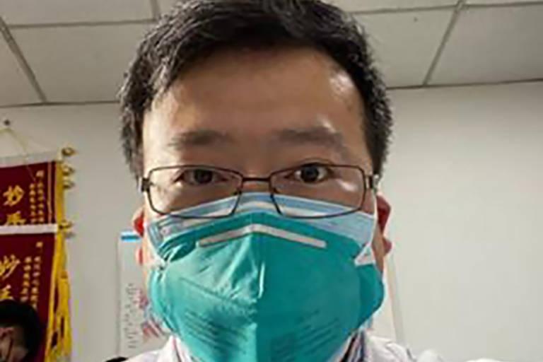 O médico chinês Li Wenliang, que alertou autoridades sobre coronavírus