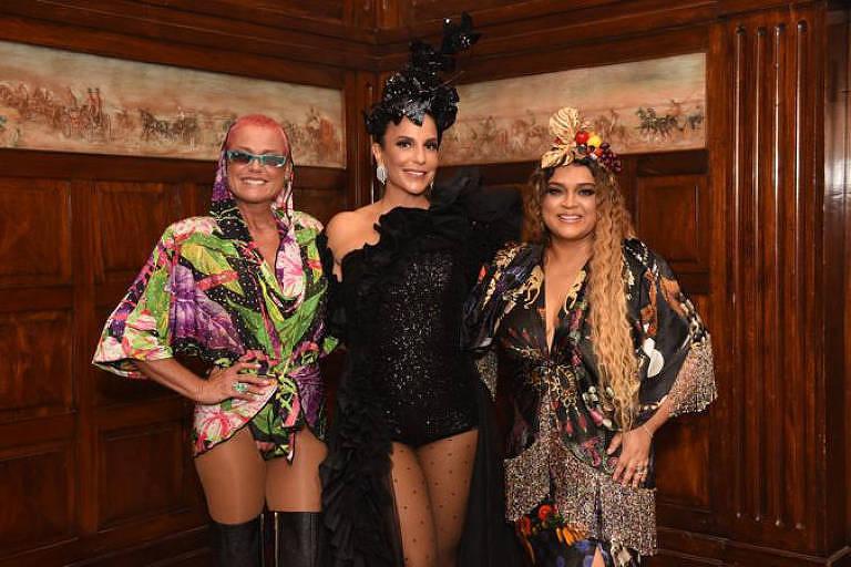 Xuxa, Ivete Sangalo e Preta Gil
