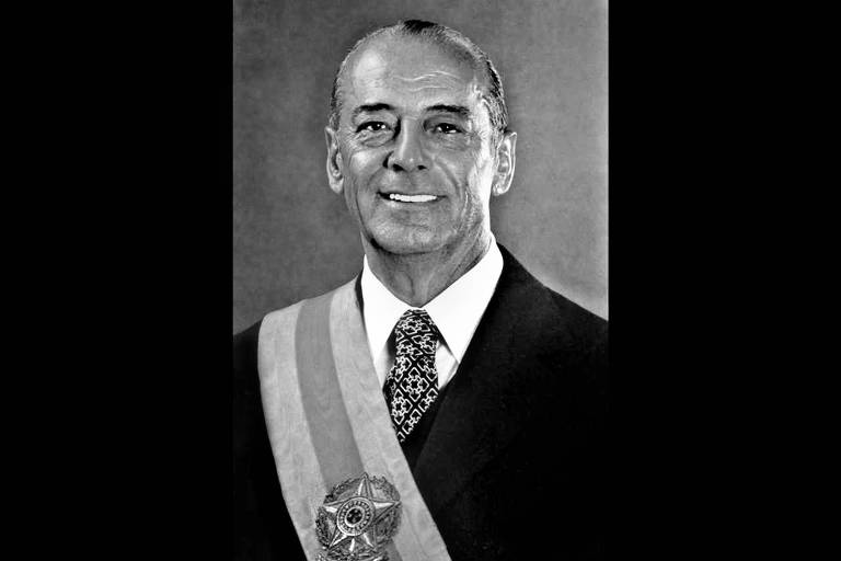 Retrato oficial do presidente Figueiredo