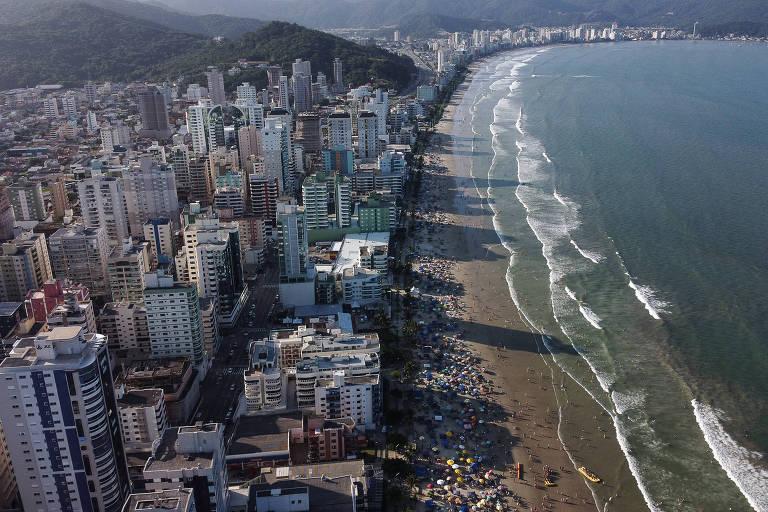Boom imobiliário testa infraestrutura no litoral norte de Santa Catarina