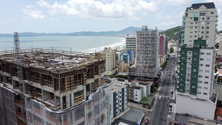 Pressão imobiliária em Itapema
