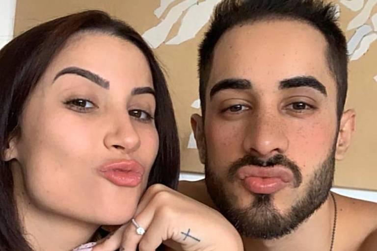 Bianca Andrade (Boca Rosa) e Diogo Melim
