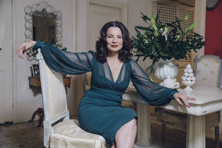 The actress Fran Drescher at her home in New York, Jan. 30, 2019. (Celeste Sloman/The New York Times)