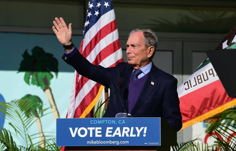 A disputa dos pré-candidatos democratas pela nomeação em 2020