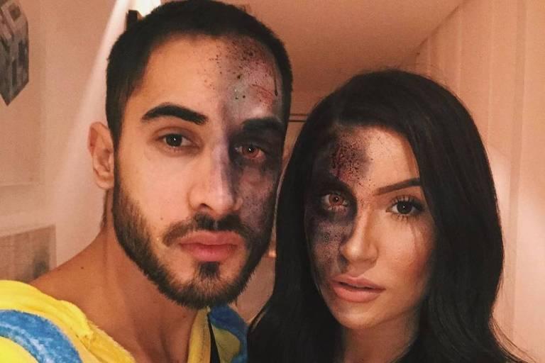 Diogo Melim e Bianca Andrade