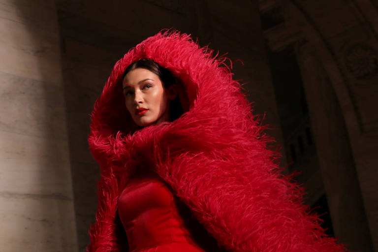 Bella Hadid na New York Fashion Week 2020