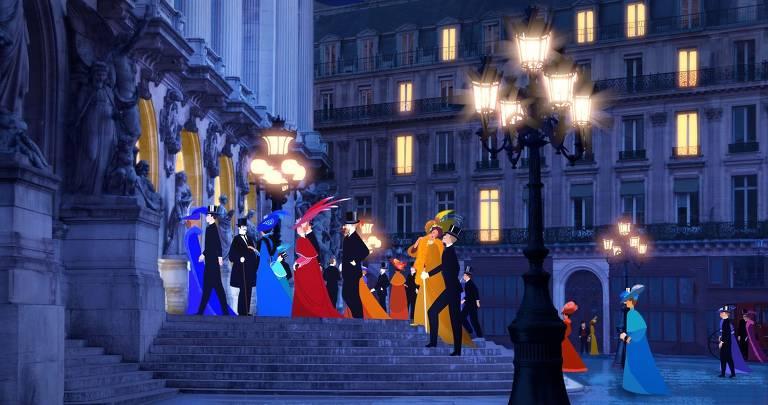 Veja cenas de 'Dilili em Paris'
