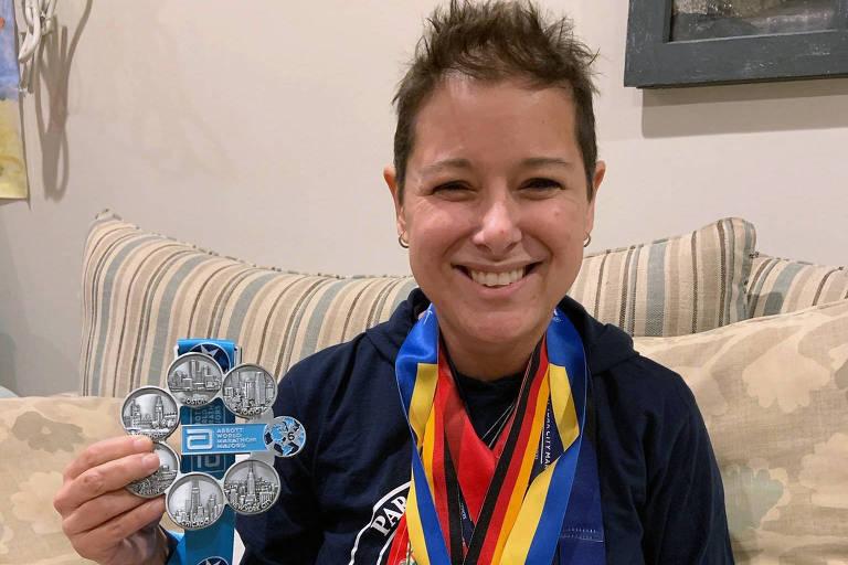 Mulher com câncer incurável correu principais maratonas do mundo