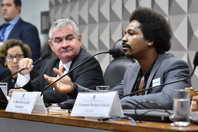 Hans River do Rio Nascimento, ex-funcionário da Yacows, em depoimento à CPMI das Fake News