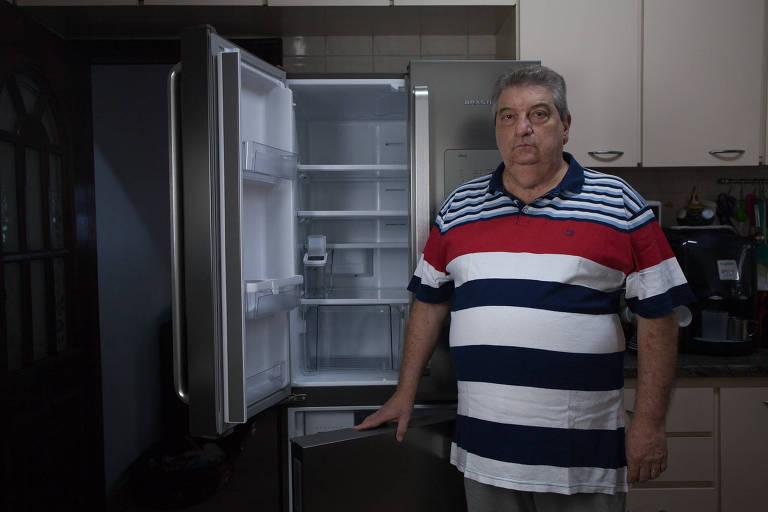 Vladir Vergani afirma que geladeira da Brastemp não funciona
