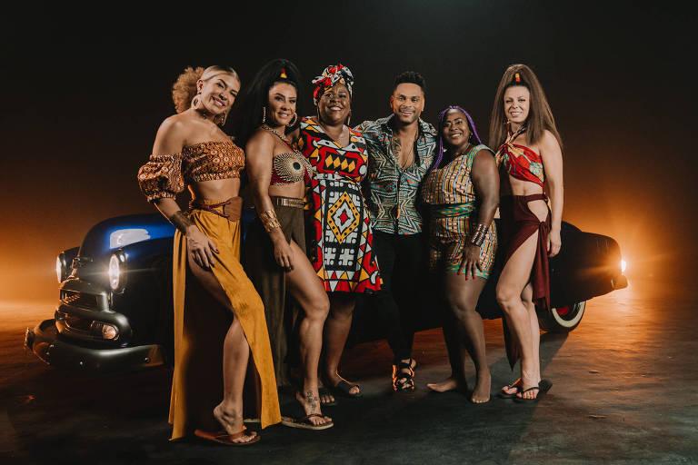 Tony Salles, do Parangolé, diz que novo single valoriza a mulher e será hit chiclete do Carnaval