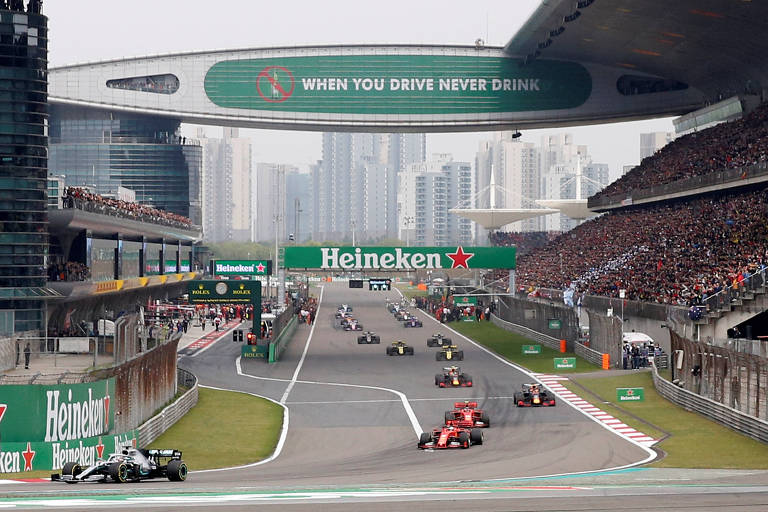 GP de Xangai de F-1 em 2019