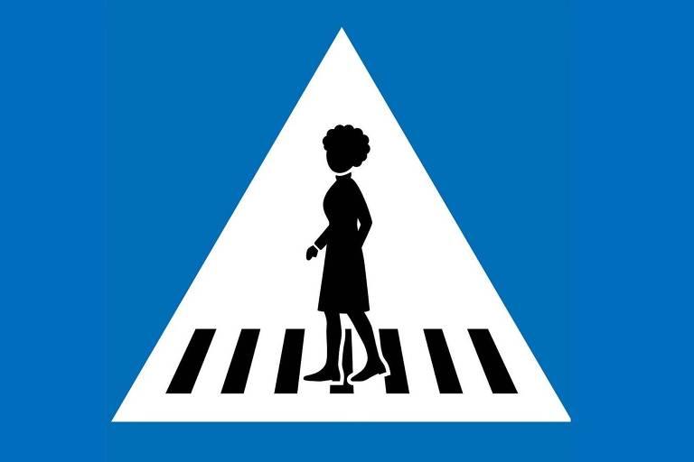 Genebra coloca figuras femininas nas placas de trânsito para reforçar igualdade de gênero