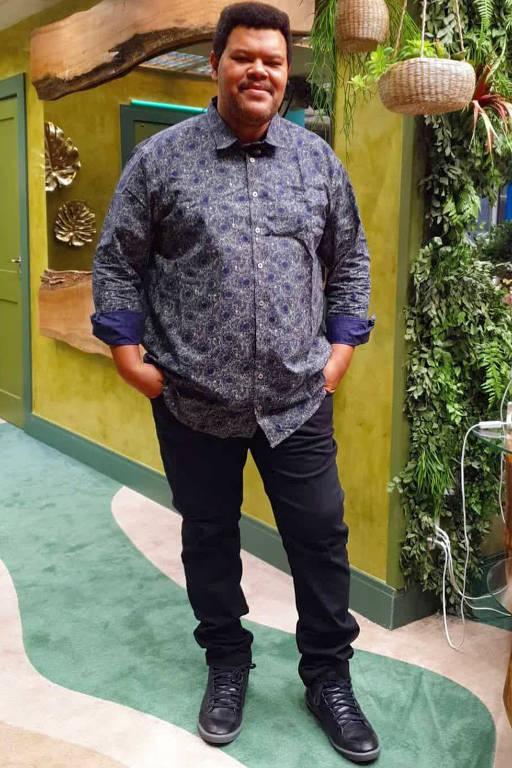 Imagens do ator Babu Santana