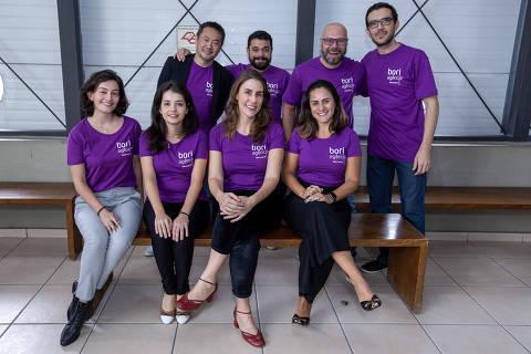 Equipe de criação e produção da Agência Bori