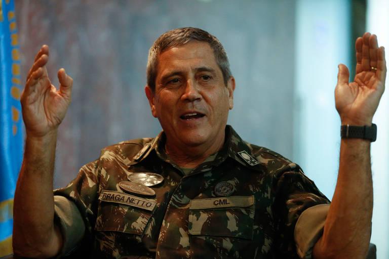 Senador da CPI da Covid aciona advocacia do Senado contra Braga Netto