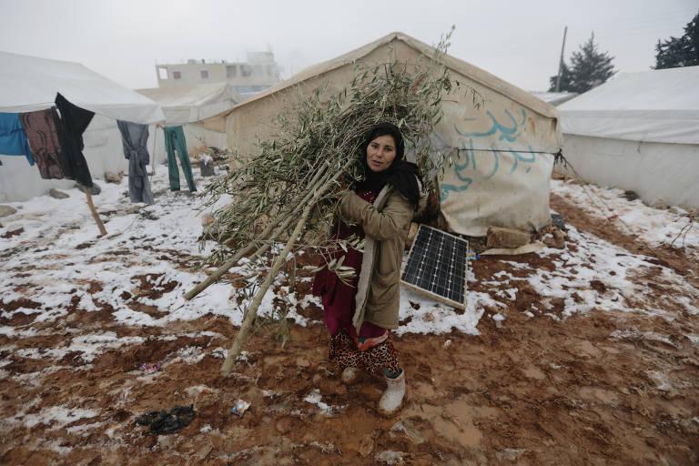 Ofensiva final de Assad gera crise humanitária na Síria