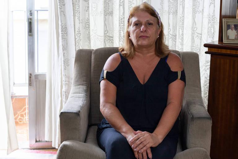 A psicóloga Soraia Aparecida Calisse Susco, 59 anos, do Tatuapé (zona leste), conta que agendou o exame em um laboratório, mas foi transferida para um local afastado de sua residência
