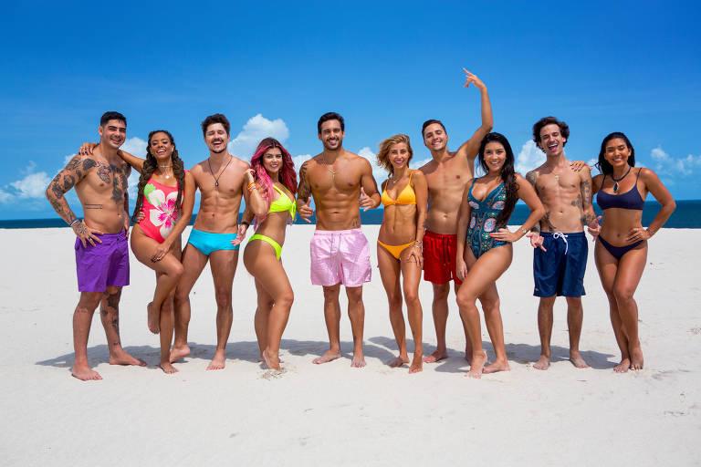 Elenco da 6ª temporada do De Férias com o Ex Brasil