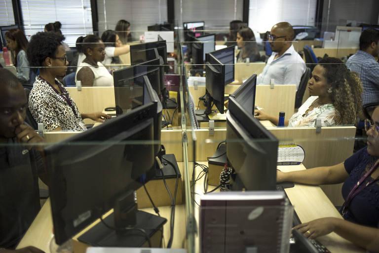 Escritório de advocacia Lee, Brock e Camargo, que utiliza a inteligência artificial como principal ferramenta de trabalho