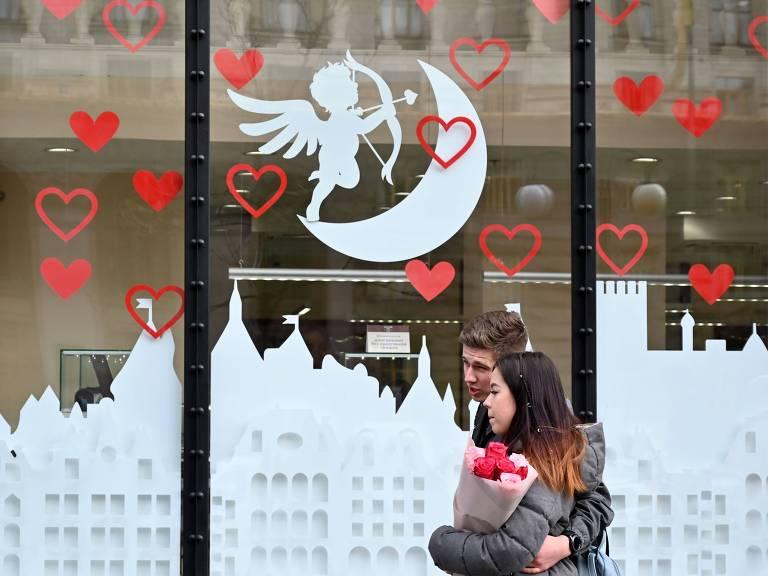 Dia de São Valentim é comemorado pelo mundo