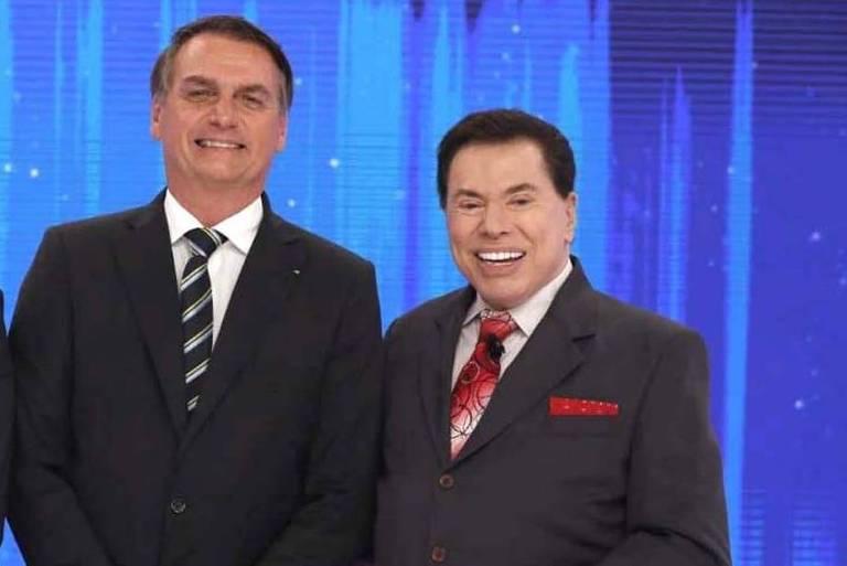 Silvio Santos diz que vai perguntar a Bolsonaro se ele será reeleito