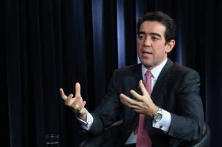 O ministro do TCU Bruno Dantas, relator das contas do presidente da República