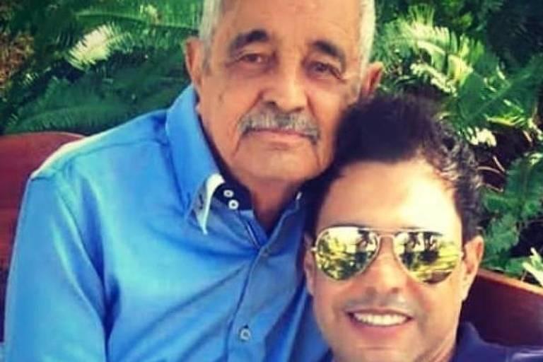 Zezé Di Camargo e o pai, Francisco