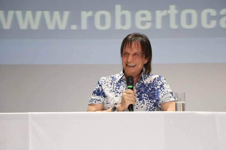 Em coletiva de imprensa, Roberto Carlos apresenta Projeto Emoções em Alto Mar 2020