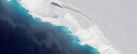 A gigantic cavity is growing at the bottom of Thwaites Glacier in West Antarctica, according to a new NASA-led study.NASA/OIB/Jeremy Harbeck