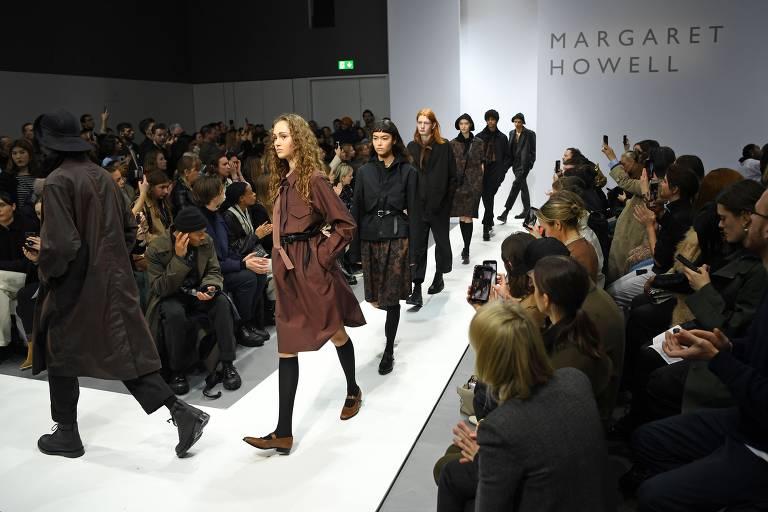 Confira a coleção de Margaret Howell exibida na semana de moda de Londres 2020