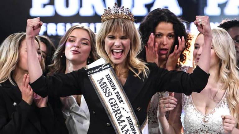 Leonie von Hase, 35, foi escolhida a Miss Germany 2020