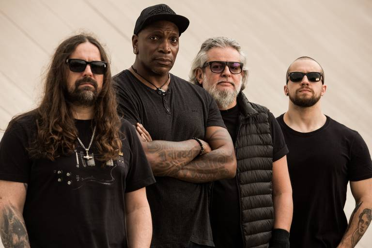 A banda brasileira de metal Sepultura