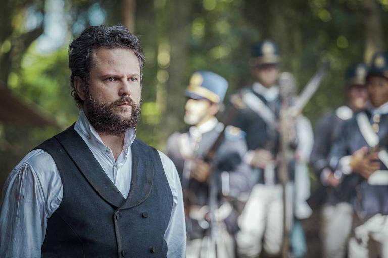 Dom Pedro II (Selton Mello) em 'Nos Tempos do Imperador' (Globo)