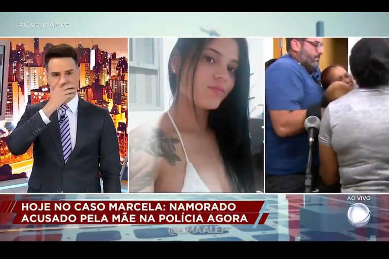 Luiz Bacci revela à mãe ao vivo que filha foi morta