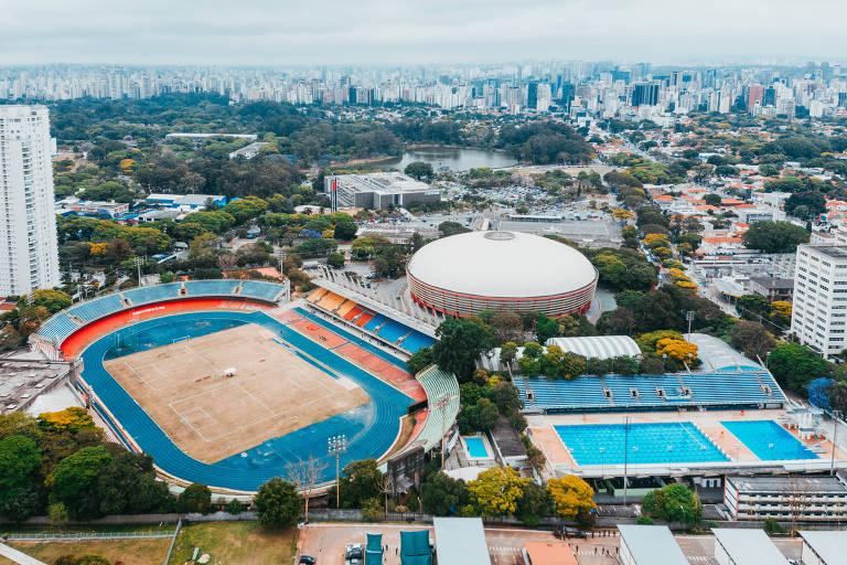 Conjunto Desportivo Constâncio Vaz Guimarães, que deve ser concedido à iniciativa privada pelo governo de São Paulo