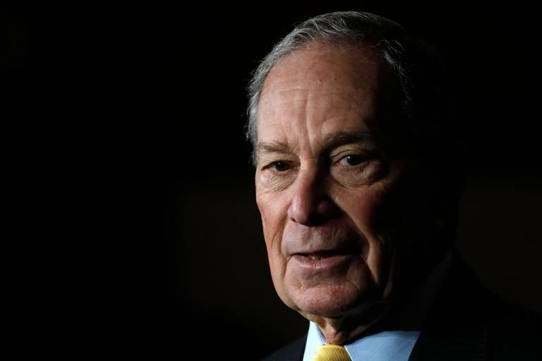 Ex-prefeito de Nova York e pré-candidato democrata à Presidência, Michael Bloomberg
