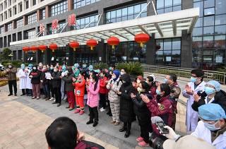 CHINA-HUBEI-WUHAN-NCP-DISCHARGE (CN)