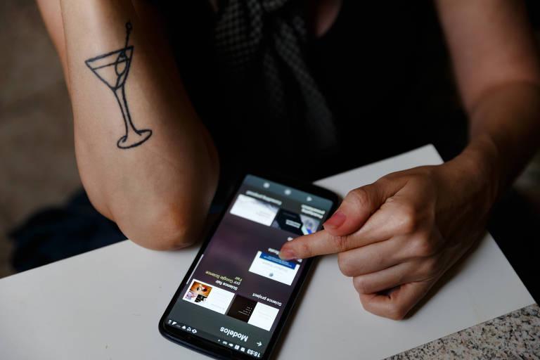 Louise Well, que trabalha fazendo drinks na noite paulistana, já foi vítima de roubos e furtos de celulares por conta de sua atividade profissional - que faz com que ela circule pela cidade de madrugada